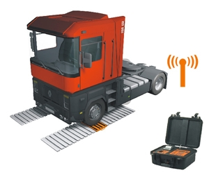 AS Model AS Portable Axle Weighing Platform